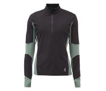 Trail Breaker Half-zip Panelled-jersey Track Top