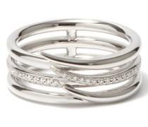 Armis Diamond & 18kt White-gold Ring
