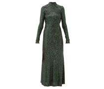 Modern Love Backless Sequinned Dress