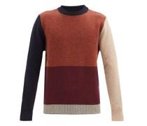 Blenheim Colour-block Wool Sweater