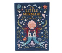 The Little Mermaid Embroidered Book Clutch