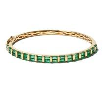 Emerald & 18kt Gold Bracelet