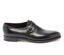 Kenton Monk-strap Leather Shoes