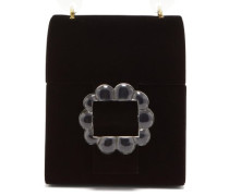 Bingley Floral-beaded Velvet Box Bag