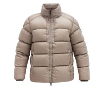 Cevenne Logo-patch Quilted Down Jacket