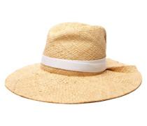 First Aid Raffia Wide-brim Hat