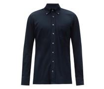 Chest-pocket Cotton-piqué Shirt