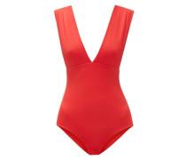 Franklin Plunge-neck Swimsuit