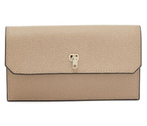 Grained-leather Continental Wallet