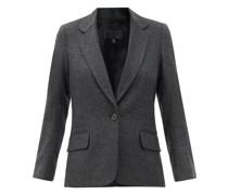 Humphrey Single-breasted Wool-blend Jacket