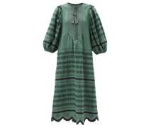 Belarus Beaded Embroidered Linen Dress