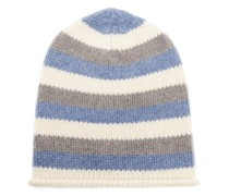 Lil' Lookout Striped Cashmere Beanie Hat