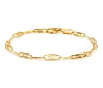 Paperclip Gold-vermeil Bracelet