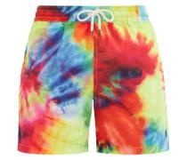 Tie-dye Logo-embroidered Swim Shorts