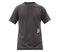 Logo-print Technical-jersey T-shirt