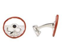 Wheel Sterling-silver Cufflinks