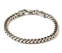 Chain-link Sterling-silver Bracelet