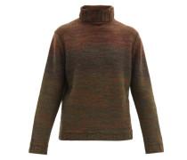 Roll-neck Wool-blend Sweater