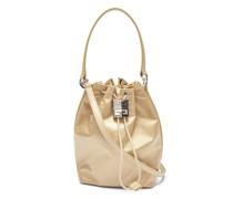 4g Light Satin Bucket Bag