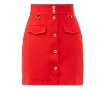 High-rise A-line Skirt