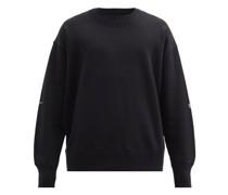 Chain Cotton-jersey Sweatshirt