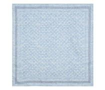 Polka-dot And Houndstooth Silk Pocket Square