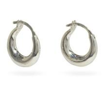 Tiny Essentials Sterling-silver Hoop Earrings