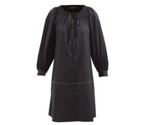 Franklin Cotton-blend Poplin Mini Dress