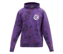 Astro Tie-dye Cotton-jersey Hooded Sweatshirt
