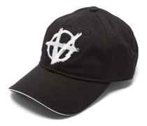 Anarchy Logo-embroidered Cotton-twill Cap