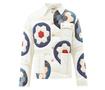 Grandmother's Garden Patchwork Cotton Jacket