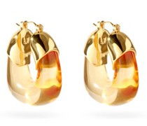 Organic Gold-plated Hoops