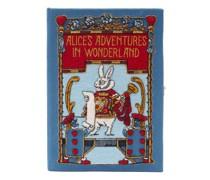 Alice In Wonderland Embroidered Book Clutch