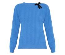 Dalton Bow-embellished Merino-wool Blend Sweater