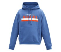 Original-print Cotton-jersey Hooded Sweatshirt