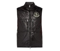 High-neck Quilted Down Gilet