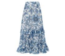 Danna Modotti Wallpaper Cotton-blend Skirt
