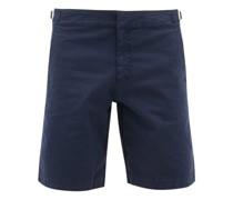 Dane Ii Cotton-blend Twill Shorts
