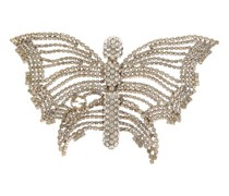 Butterfly Crystal-embellished Brooch