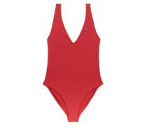 Comporta Plunge-neck Swimsuit