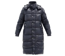 Hanoverian Down-quilted Hooded Coat