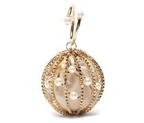 Sasha Faux-pearl And Crystal Cross-body Bag