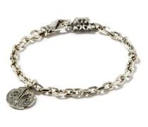 Crest Sterling-silver Bracelet