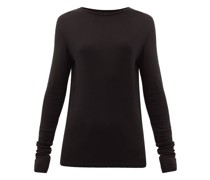 Long-sleeved Organic-wool T-shirt