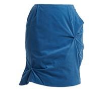 Twist-stitch Cotton-corduroy Mini Skirt
