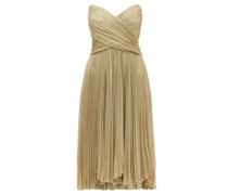 Kaira Tie-back Sweetheart Neckline Metallic Dress