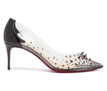 Grotika 70 Spike-embellished Pvc Pumps
