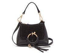 Joan Mini Leather And Suede Cross-body Bag