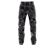 Thor Zipped-waist Vinyl Trousers