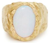 Signetura Opal & 18kt Gold Ring